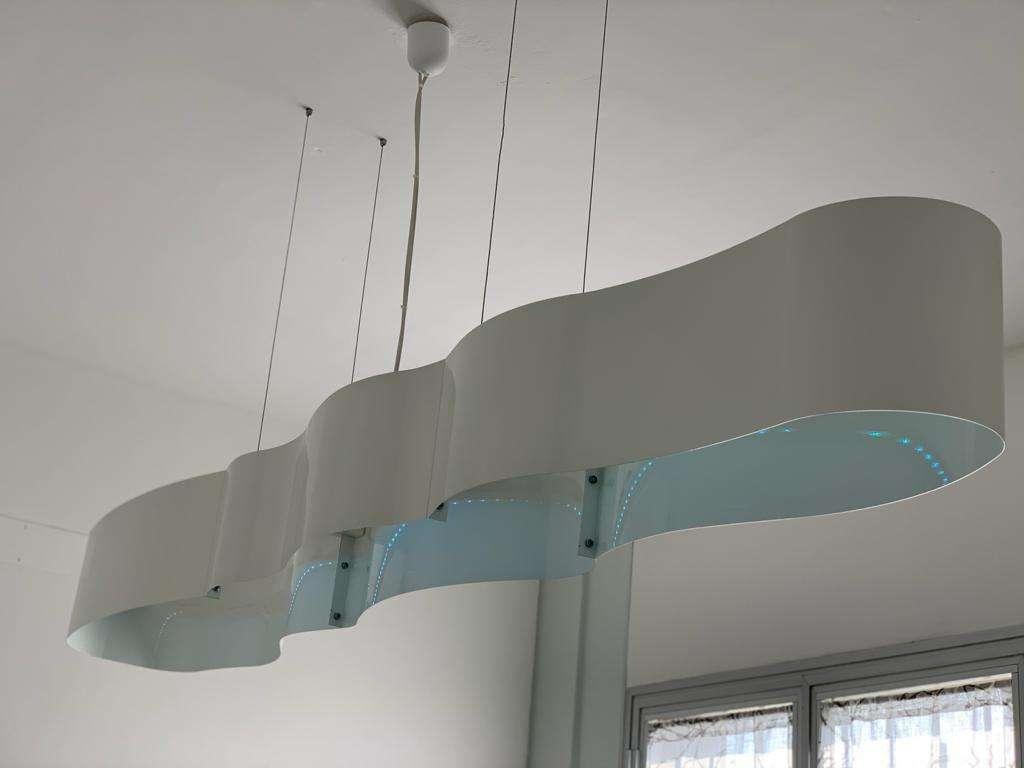 riproduzione e restauro di manufatti metallici lampada spenta