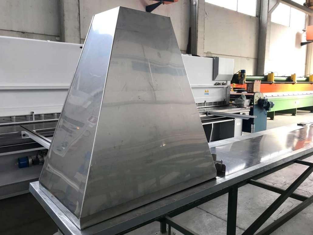 Cappa in acciaio Inox