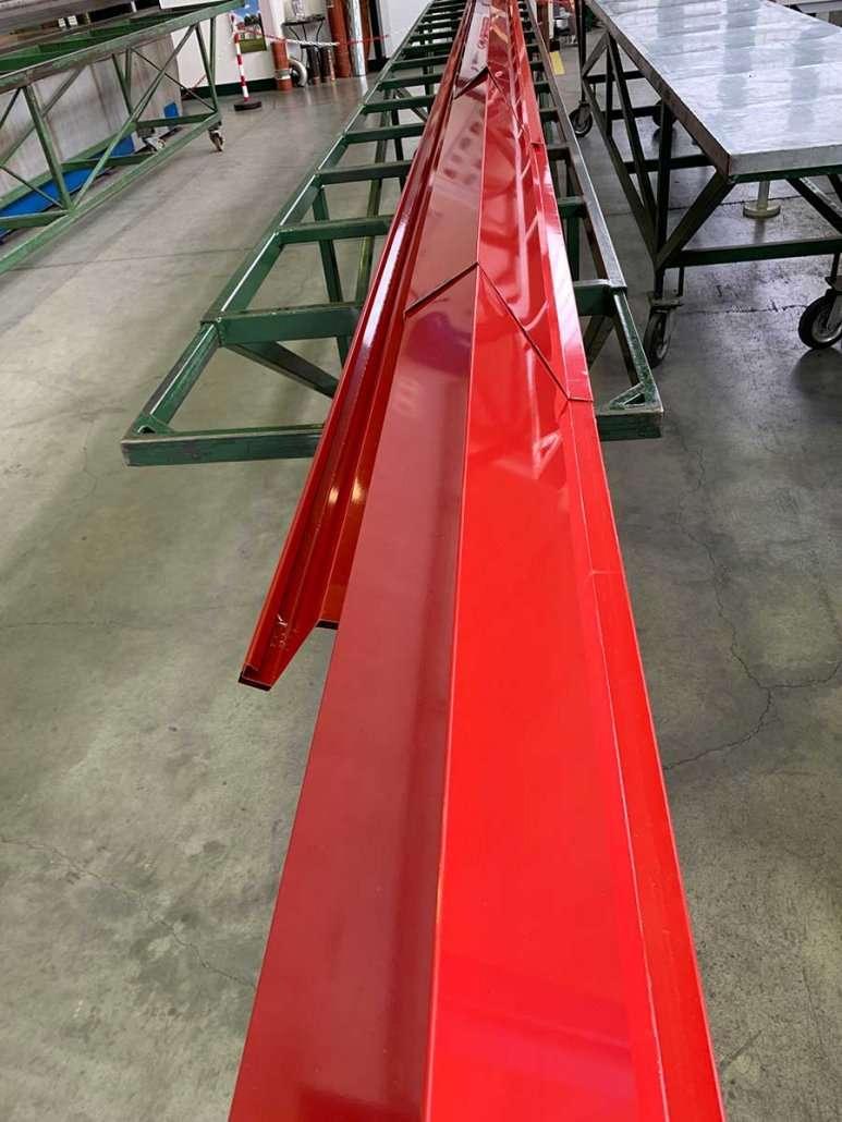 Frontalini in PVF rosso fuoco